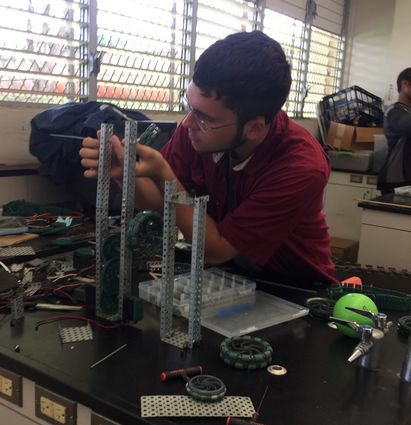 STEM Builds Robots, Flies Drone