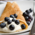 These crepes are simple to make and great for any meal of the day, whether it's breakfast or dessert.