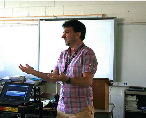 Jones Named Outstanding Educator of the Year