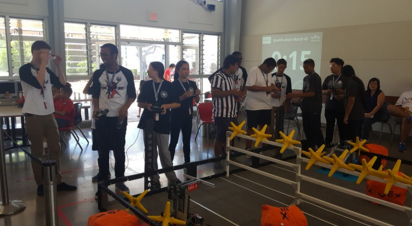 RambotX Competes in VEX Competition
