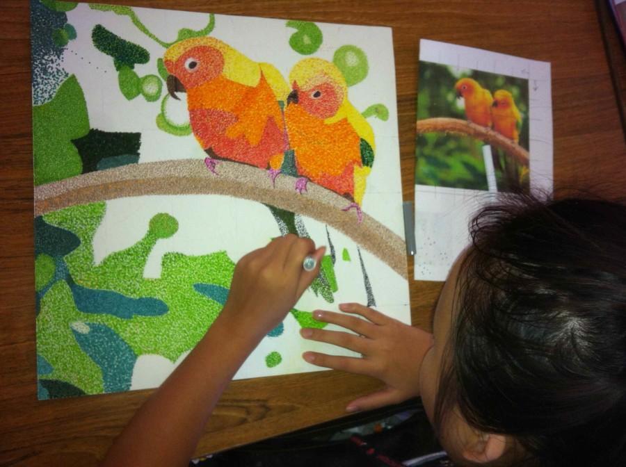 Luu Showcases Artistic Talent