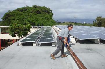 Photovoltaic Panels Power Up School