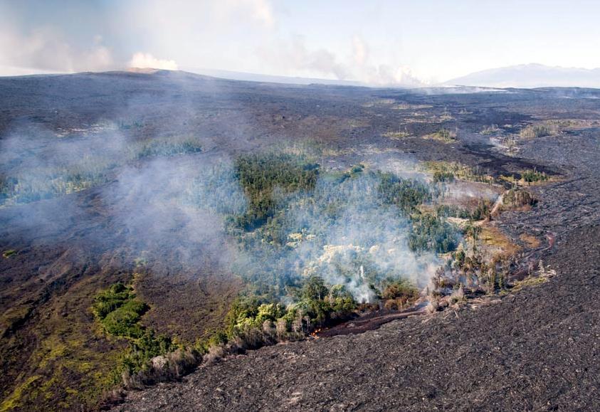 Volcanic Smog Surrounds Hawaiian Islands
