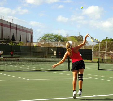 Varsity Tennis Season Ends, Players Leave with High Hopes