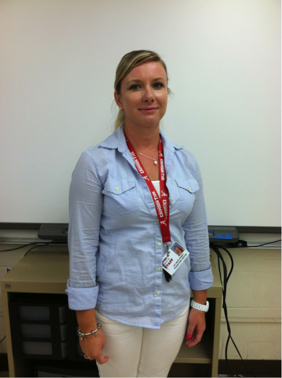 McElhaney Helps New Students