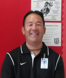 "Science teacher Garvin Tsuji may be new to the teaching profession, but is a familiar face on campus. For the past 17 years he was the school's  athletic trainer.  ""I am still able to enjoy the interaction with students and share my passion of sports medicine."""