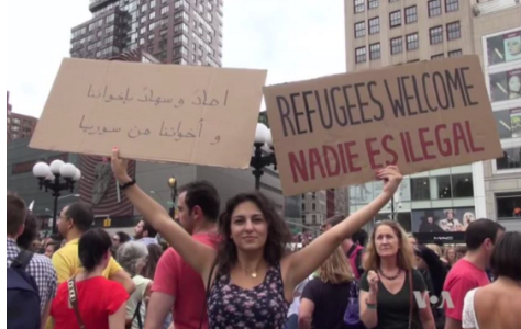 Nation Divided Over Accepting Syrian Refugees