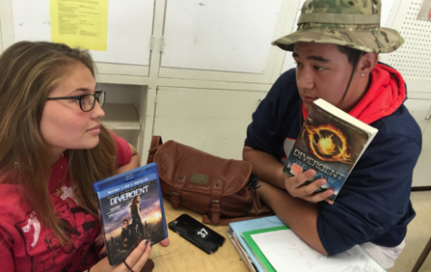 Radford Divided Between Books and Movies