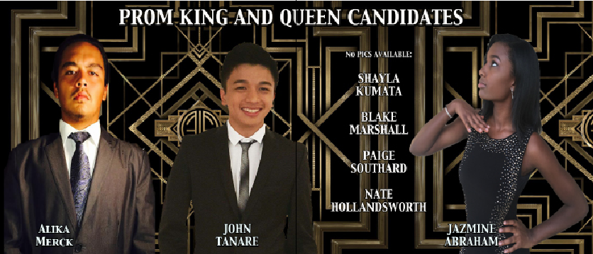 Court Hopefuls Run for Prom King, Queen