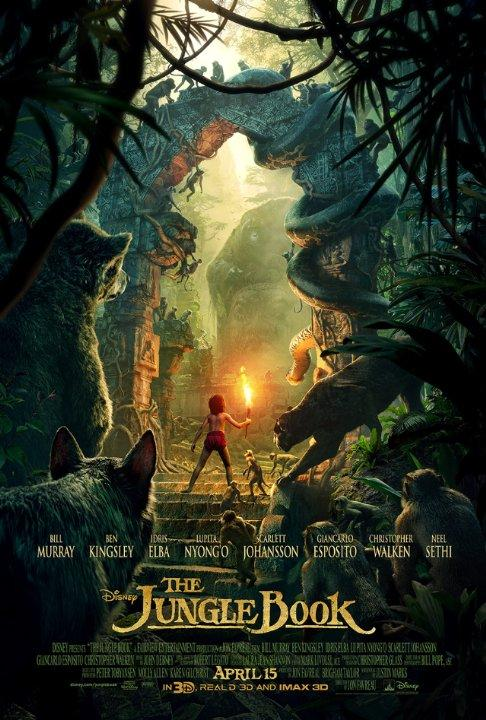 """The Jungle Book"" is a remake of the animated adventure film that was originally released in 1967. It features many well-known celebrities such as Scarlett Johansson, Idris Elba, Bill Murray, Christopher Walken, and Ben Kingsley. The film was praised by Rotten Tomatoes, receiving a rating of 94 percent."