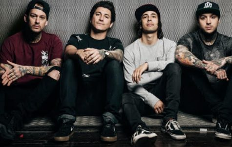"Pierce the Veil is an American post-hardcore band that originated from San Diego, California and formed in 2006. Even though they have been touring in the last few year, they have yet to release a new album (the last being ""Collide With the Sky"" which was released to the public in the summer of 2012). In March 2016, they have finally announced their new album, ""Misadventures,"" which will be available May 13."