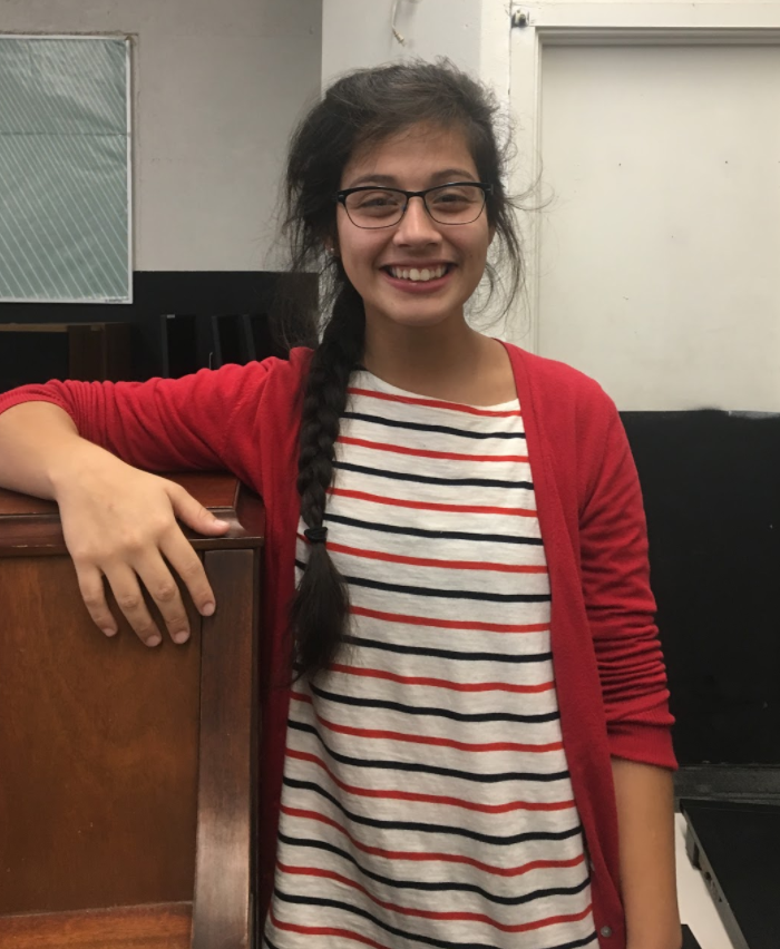 """First year teacher Vanessa Maldonado is a fresh face to the music department. She is a University of Hawaii graduate who earned her degree in secondary education with an emphasis in music. Maldonado said that she teaches to """"pass on knowledge"""" and to help students thrive and grow."""