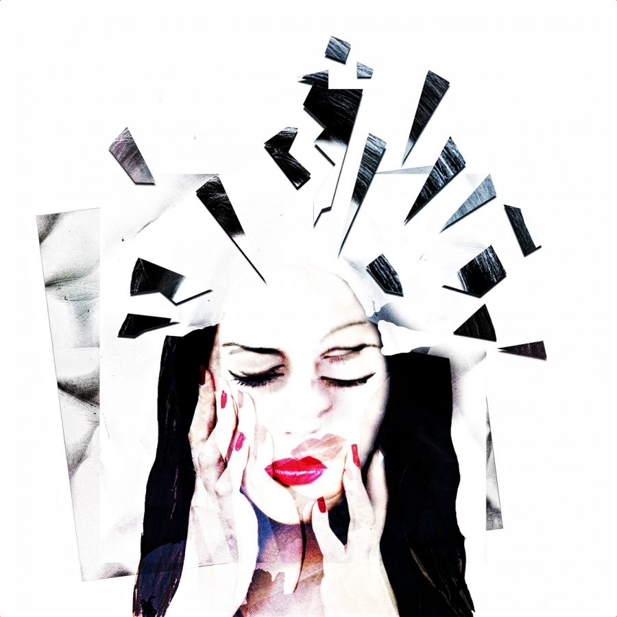 In this photo illustration, it shows how people with mental illnesses might feel when they hear others talk about their disorders flippantly.