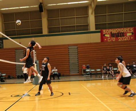 Boys Varsity Volleyball Bounces Back
