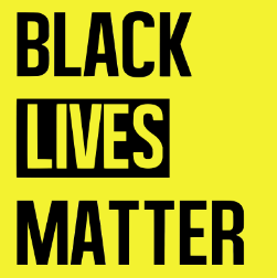 "Black Lives Matter became one official movement four years ago with the death of 17-year-old Trayvon Martin. This movement advocates for the economic, social, and political equality of black people everywhere. ""We are unapologetically Black in our positioning. In affirming that Black Lives Matter, we need not qualify our position. To love and desire freedom and justice for ourselves is a prerequisite for wanting the same for other."" Quote and Picture Courtesy of BlackLivesMatter.com"