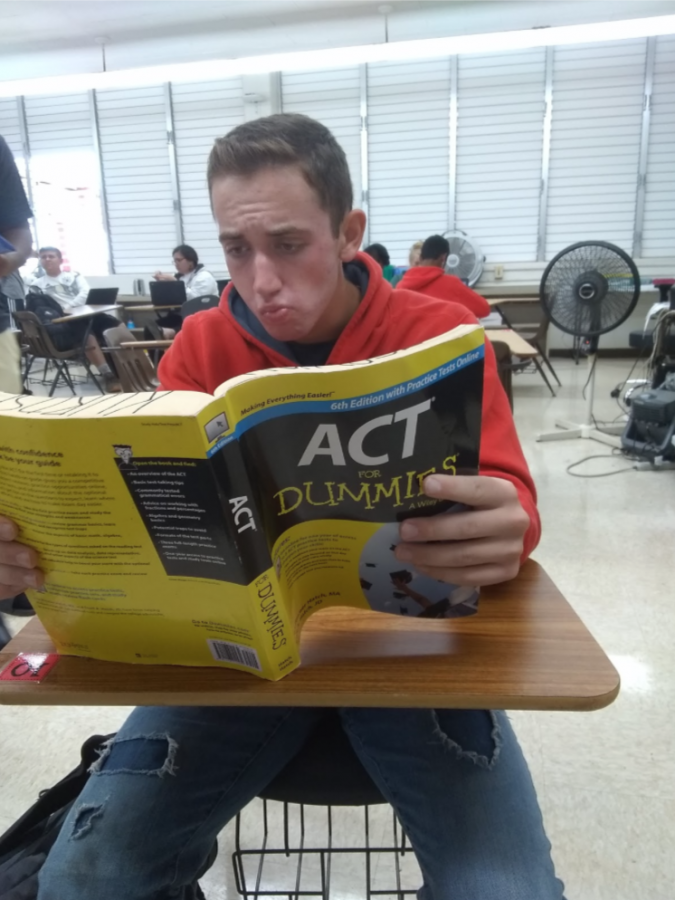 Students Prepare for ACT