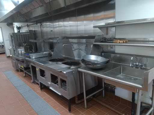 "This station is where they work with different kinds of food, for example, Stir fry and Chinese cuisines, ""Building was something I really anticipated on,"" Jia Chen (12)"